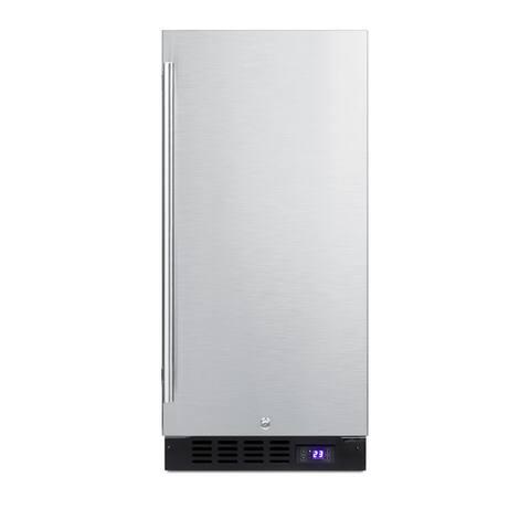 "Summit SCFF1533B 15"" Wide 2.45 Cu. Ft. Capacity Upright Freezer"