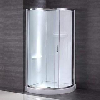 """Miseno MSD3178KIT 78"""" High x 31"""" Wide Framed Shower Door Enclosure for Corner In"""