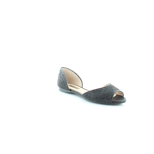 INC International Concepts Womens elsah Suede Peep Toe Casual Slide Sandals