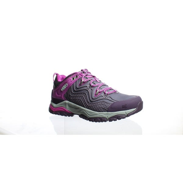 7b2a1d83d52e Shop KEEN Womens Aphlex Plum Shark Hiking Shoes Size 5 - Free ...