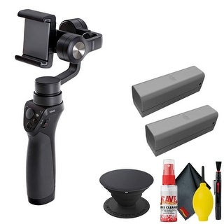 Link to DJI Osmo Mobile Gimbal - POPSOCKET Black - Battery x2 Similar Items in Digital Cameras