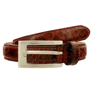 Renato Balestra Stilosoma Ro RedPython Leather Womens Belt