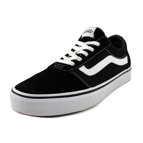 Vans Ward Women Round Toe Suede Black Skate Shoe