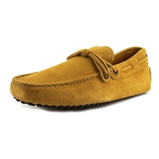 Tod's New Laccetto Occh. New Gommini 122 Suede Moccasins