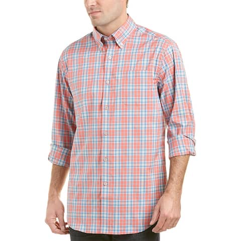 Southern Tide South Station Classic Fit Woven Shirt