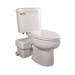 Liberty Pumps ASCENTII-ESW Ascent II 1.28 GPF Elongated Toilet with Macerator