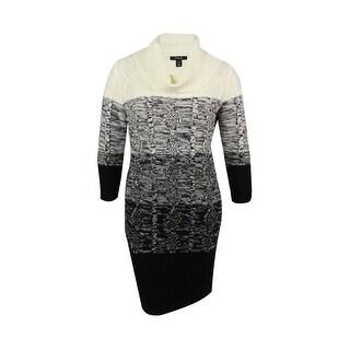 Style & Co. Women's Marled Sweater Dress - l