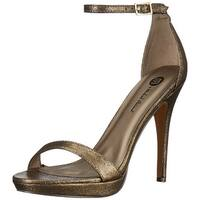 Michael Antonio Womens Lovina Open Toe Casual Ankle Strap Sandals