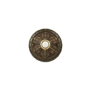 Craftmade BSMED Medallion Pushbutton from the Designer Surface Collection