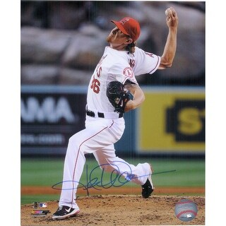 Signed Weaver Jered Los Angeles Angels 8x10 Photo autographed