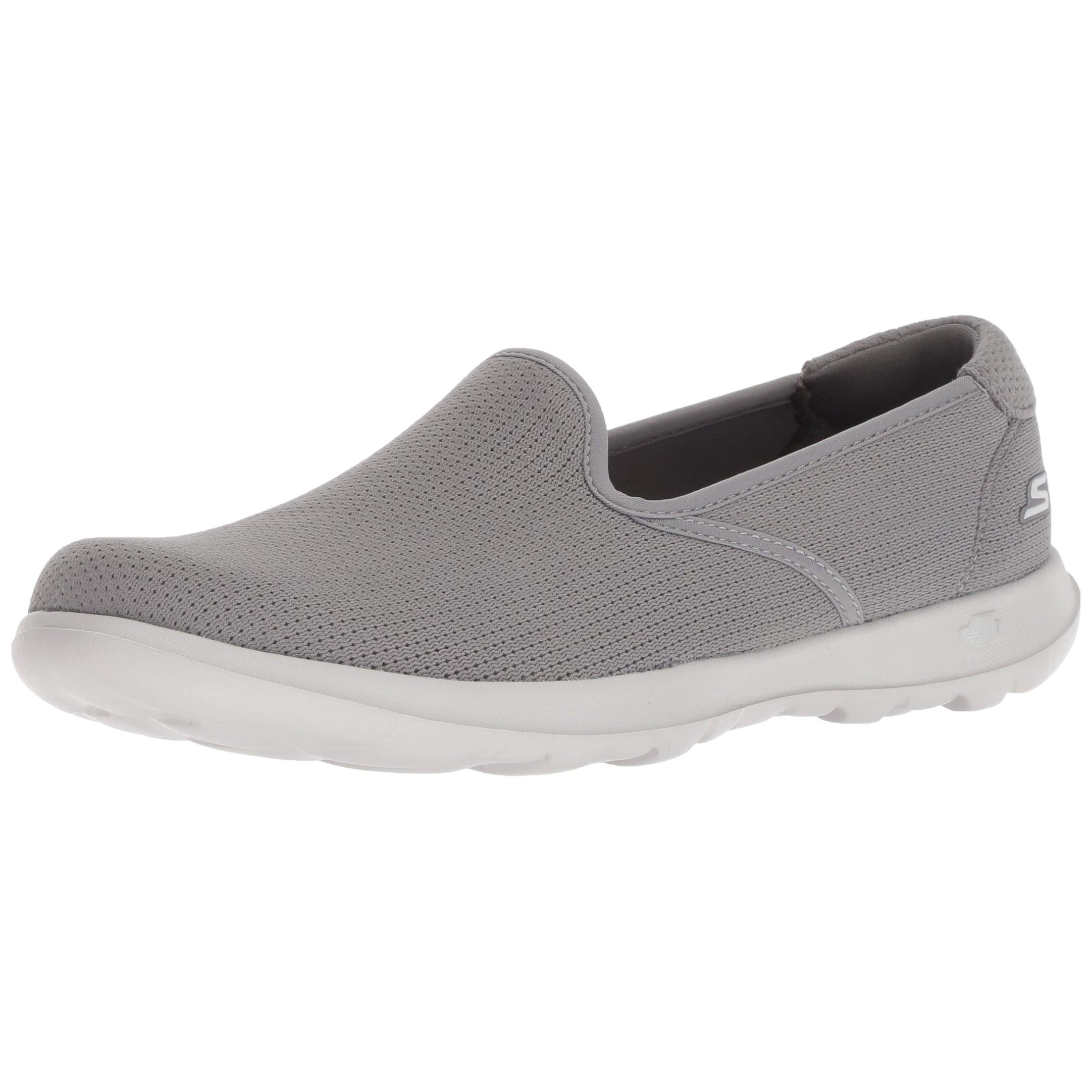 Go Walk Lite Heavenly Loafer Flat,Gray
