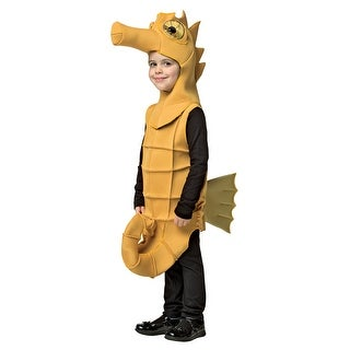 Child Seahorse Costume (Option: Yellow)