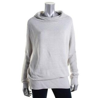 Kiind Of Womens Tori Oversized Mock Neck Sweater