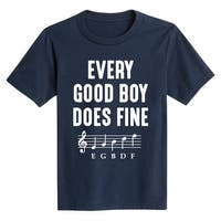 Every Good Boy Does Fine - Youth Short Sleeve Tee