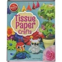 Klutz K564777 Tissue Paper Crafts Book Kit