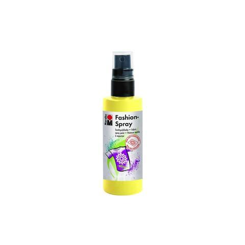 Marabu Fashion Spray Paint 3.4oz Lemon - White
