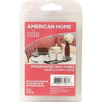 Yankee Candle Co 2.6Oz Warm Home Waxcube 1503181 Unit: EACH