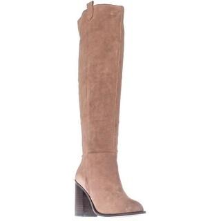 Kelsi Dagger Brooklyn Harmans Knee-High Fashion Boots, Latte