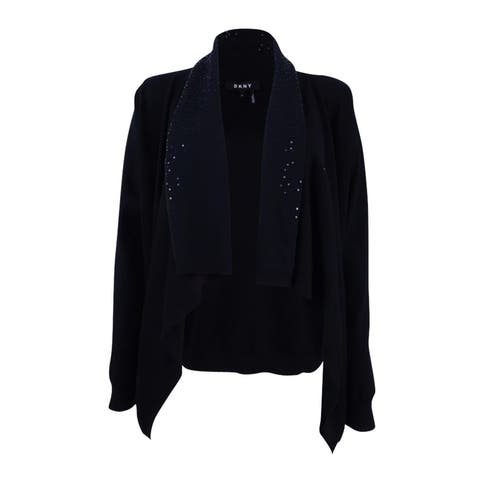 DKNY Women's Embellished Cardigan