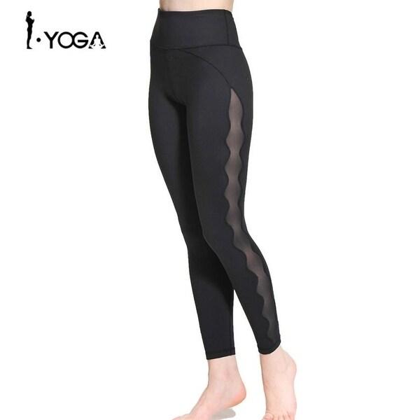 d26428e6b6389 Fitness Women Sport Leggings Yoga Pants Workout Gym Training Tights Running  Sportswear Trousers High Waist Activewear