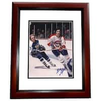 8 x 10 in. Guy LaPointe Autographed Montreal Canadians Photo,