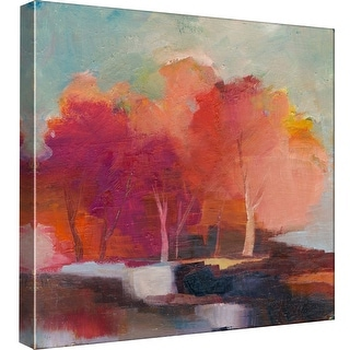 "PTM Images 9-99553  PTM Canvas Collection 12"" x 12"" - ""Fall Beauty"" Giclee Forests Art Print on Canvas"