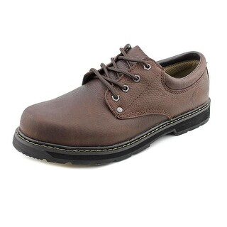 Dr. Scholl's Harrington Men Round Toe Leather Brown Oxford
