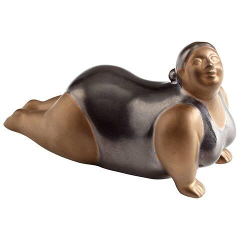 "Cyan Design Yoga Sue Sculpture Yoga Sue 3.75"" High Ceramic Statue"