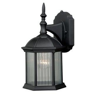 """Vaxcel Lighting T0130 Kingston 1 Light 5"""" Wide Outdoor Wall Sconce with Photocell Included"""