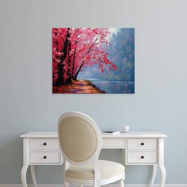 Easy Art Prints Graham Gercken's 'River Bend' Premium Canvas Art