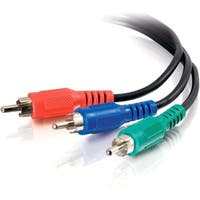 C2G 40956 C2G 3ft Value Series RCA Component Video Cable - RCA Male - RCA Male - 3ft - Black