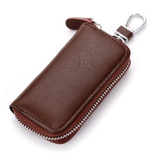 Retro Vintage Unisex Leather Key Bag Key Wallets Key Package