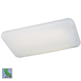 Minka Lavery ML 1006-PL 4 Light Fluorescent Ceiling Fixture from the Kitchen Fluorescent Collection