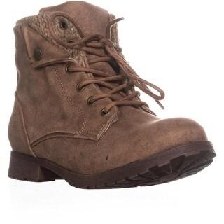 Rock & Candy Tavin Fashion Hiking Boots, Taupe/Tan/Beige - 7.5 us