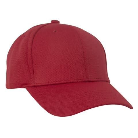 Adjustable Baseball Cap w/ Hook and Loop Tab