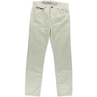 Stitch's Mens Woven Flat Front Straight Leg Pants - 32