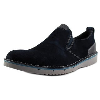 Clarks Narrative Capler Step Men  Round Toe Suede  Loafer