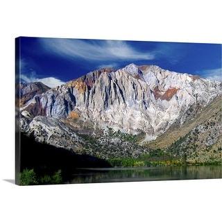 """Convict lake and Laurel mountain, California"" Canvas Wall Art"