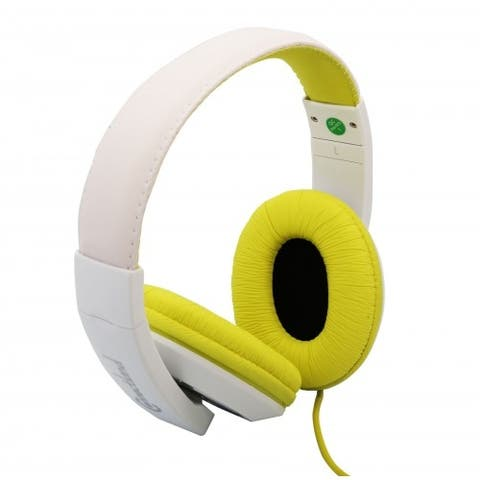 Over The Ear Stereo Headphone for Mobile Devices and Smartphone