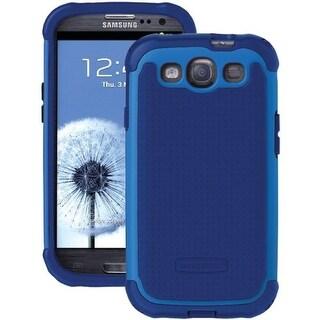 Ballistic Shell Gel Case for Samsung Galaxy S3 - Navy Blue/Cobalt