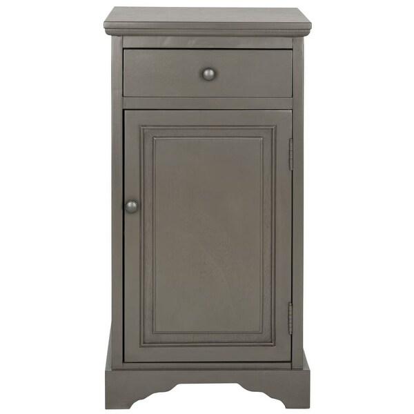 Safavieh Amh5722 Jett 15 9 Inch Wide Engineered Wood Storage Cabinet