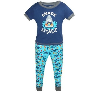 Only Boys Boy's Tee Shorts Pants 3 Piece Pajama Set