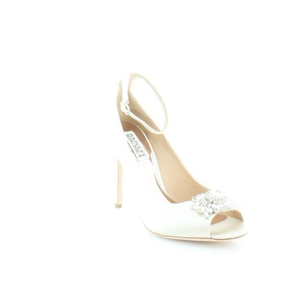 Badgley Mischka Kali Women's Heels Ivory