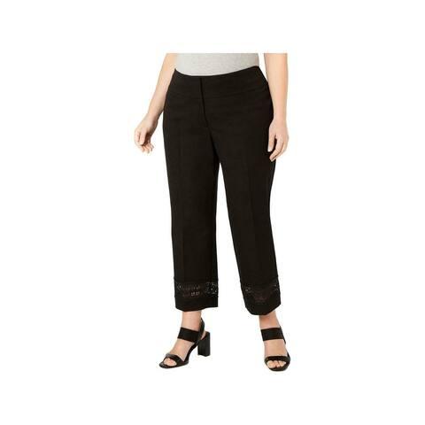 ALFANI Womens Black Pants Size 14W