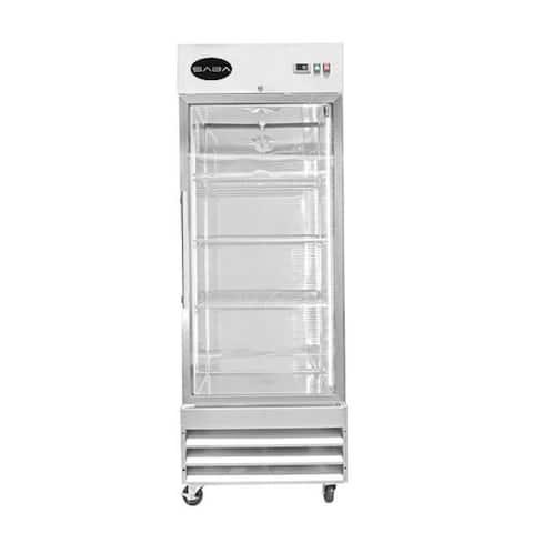 SABA S-23RG - One Glass Door Commercial Reach-In Cooler