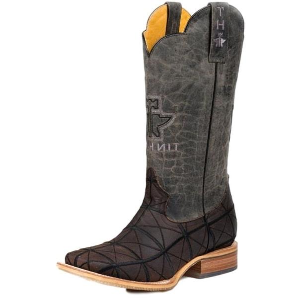 Tin Haul Western Boot Mens Pumpin Derrick Brown