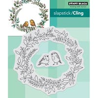 Penny Black Cling Stamps-Winter Chip