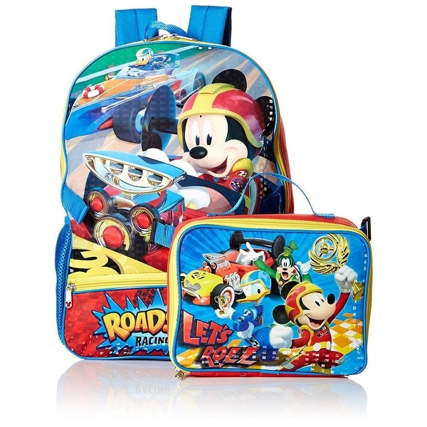 Disney Boys Mickey Mouse Backpack Lunch Bag Set