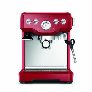 Breville BES840CBXL The Infuser Espresso Machine (Cranberry Red)