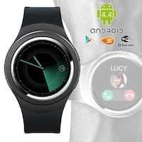 Indigi® Stylish Wrist Watch 3G SmartPhone Android 4.4 WiFi Heart-Rate Monitor Google Play Store Weather Forecast GSM Unlocked!